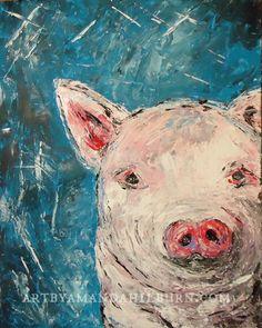 This Little Piggy by Amanda Hilburn
