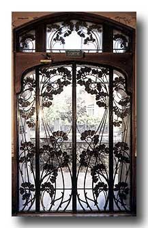 Window Style Art Nouveau: The design is so beautiful and upward moving. Such movement is rare in nouveau.