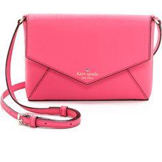 Kate Spade New York Cedar Street Large Monday Bag - Cabaret Pink ($198) ❤ liked on Polyvore