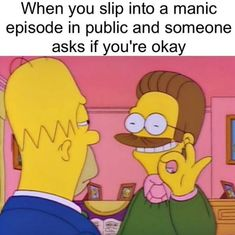 22 Memes That Might Make You Laugh If You Have Bipolar Disorder Bipolar Humor, Bipolar Disorder Quotes, Bipolar Quotes, Manic Bipolar Disorder, Bipolar Funny, Stupid Funny Memes, Funny Relatable Memes, Haha Funny, Funny Texts