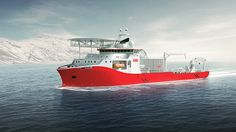 SALT 306 CLV fra Salt Ship Design, ordered by ABB for cable laying.