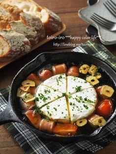 5分で出来る!カマンベールのアヒージョ by トイロ* [クックパッド] 簡単おいしいみんなのレシピが259万品