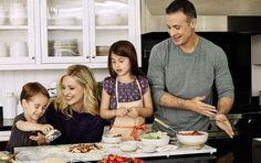 Everyone wants their families to eat well (and healthily), and if the meals can be fun, too, well that's even better.