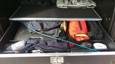 MobileStrong HDP SUV Cargo Organizer in a Police Chief's Chevy Tahoe  www.MobileStrong.net