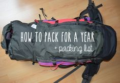 Naomi in Wonderland - How to pack for a year abroad + packing list