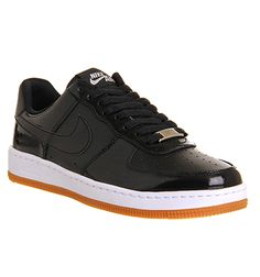 nike air force 1 low black youths trainers skyrim