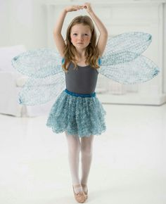 Crochet wings