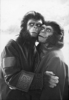 Who could forget the Planet of the Apes shown on rerun usually on a Sunday or Saturday afternoon?