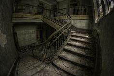Between floors