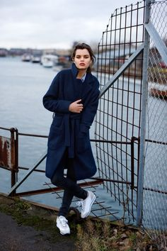 MbyM winter 2015-2106  #womanonly #chic #simple #woman #wintercoat #longcoat
