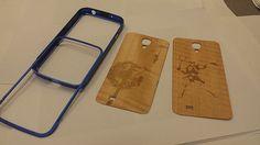 DIY wood insert phone case.