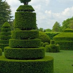 A garden can be a ludic place for children. (Longwood Gardens: Architectural Digest)
