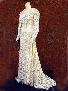TRICO and CROCHET-madonna-mine: Brides Irish Crochet Patterns