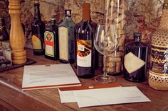 Letterhead, Wine Bottle, Envelope Mockup by 4to Pixel on @originalmockups