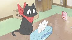 Sakamoto-san! From Nichijou (My Ordinary Life). This show is so cute and hilarious
