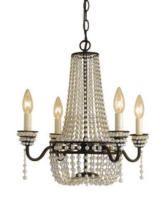 Elements Parlor Cream Mini Chandelier | AF Lighting | Home Gallery Stores