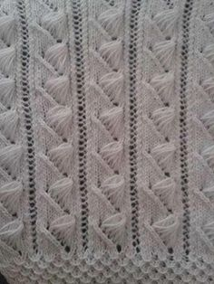 Bech Five - Knitting Examples Knitting Stiches, Knitting Videos, Crochet Stitches Patterns, Crochet Videos, Lace Knitting, Knitting Patterns Free, Free Pattern, Knitting Needles, Turkish Pattern