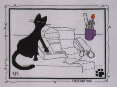 Faxcinating Kats By Kelly Pre Order Cross Stitch Calico Crossroads