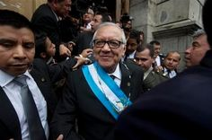 Guatemala swears in new president after Perez Molina resigns | A Bangla-English Blog with Latest News, Technology News and Tips-Tricks.
