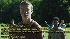 Image result for maze runner kid with crazy eyebrows