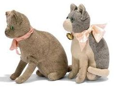 steiff cats