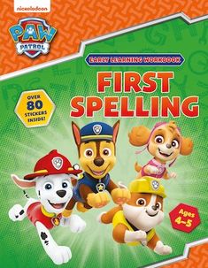 Learn to spell with Chase, Rubble, Skye and the rest of the PAW Patrol team! With over 80 stickers. The PAW Patrol are here to help you spell sounds, read tricky words and form letters correctly. Home Learning, Early Learning, Learn To Spell, Letter Form, Paw Patrol, Spelling, Classroom, Letters, Age