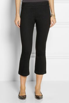 The Row | Seeton mid-rise flared leggings | NET-A-PORTER.COM