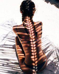 retratos desnudos con sombras
