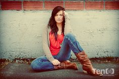 senior picture ideas for girls   Shoes: Heels, Boots, Flats Example Photos for Senior Girls seniors ...