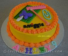 Coolest Smiggle Birthday Cake... This website is the Pinterest of birthday cake ideas