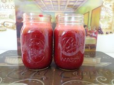 Earthly Tones Detox Red Beet Elixir Juice. This one is one of my faves <3 love the color.