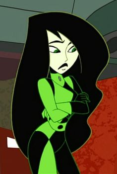Kim Possible's Shego (Dr. Drakken's sidekick)