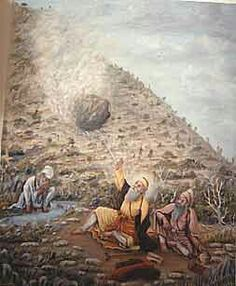 Guru Nanak Dev Ji - Gurdwara Panja Sahib Guru Nanak Ji, Nanak Dev Ji, Guru Nanak Jayanti, Guru Pics, Ascended Masters, Animals And Pets, Mythology, Mystic, Religion