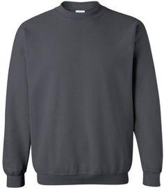 Gildan Heavy Blend Crewneck Sweatshirt. 18000, Men's, Size: Small, Black