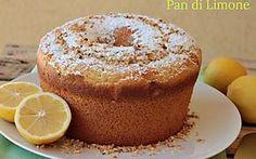 Pan di limone ricetta torta da forno facile e buona con polpa di limone frullata Chocolate Desserts, Vegan Desserts, Easy Desserts, Baking Recipes, Cake Recipes, Dessert Recipes, 3 Ingredient Cheesecake, Sweet Light, Torte Cake