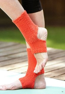 Ravelry: Toeless Yoga Socks. Pattern from Socks to Knit For Those You Love.