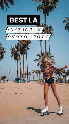Los Angeles California, Southern California, Places Around The World, Around The Worlds, Best Instagram Photos, Hollywood Sign, Venice Beach, Photo Location, Santa Monica