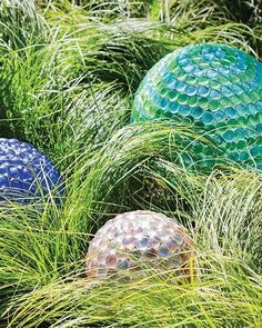 Glass Marble Garden Globes