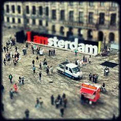 Amsterdam tilt shift by neilmenday, via Flickr