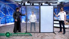 Hugh Jackman and the presenters of Antena3 take part in reviewing our smart glass application. In this series Hugh Jackman demonstrates how responsive the switchable glasses are in a flick of a button. A presenter and Hugh Jackman takes it in turns in switching the glass on and off posing in different stances.
