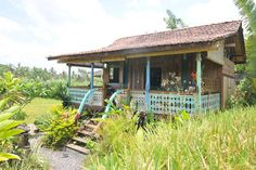 Check out this awesome listing on Airbnb: Bijoux House Antique Carved Teak   in Ubud