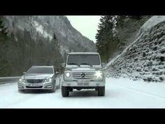 A Mercedes-Benz fez um comercial, bem simpático, para falar do sistema de tração integral 4MATIC e colocou Mika Häkkinen e Michael Schumacher novamente disputando posições, mas agora bem diferente...vejam...