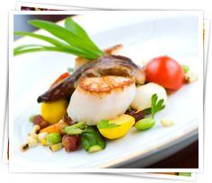 Seasonal Scallops for Summer at CITE Mouth Watering Food, Hors D'oeuvres, Catering Services, Scallops, Get Healthy, Organic, Beef, Cooking, Breakfast