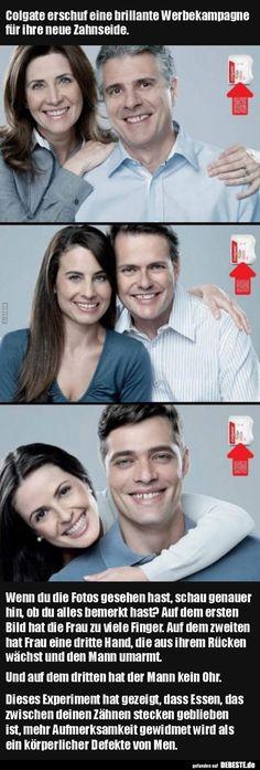Colgate erschuf eine brillante Werbekampagne für ihre neue.. | Lustige Bilder, Sprüche, Witze, echt lustig
