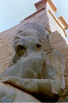 Ramses II. Luxor temple. Egypt