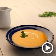 Crema de calabaza para #Mycook http://www.mycook.es/receta/crema-de-calabaza/