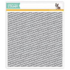 Simon Says Cling Rubber Stamp TINY ALPHABET BACKGROUNDS sss101516 Falling For…