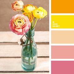Color palette color schemes, color palette for home decor Orange Color Palettes, Red Color Schemes, Warm Colour Palette, Colour Combinations, Color Harmony, Color Balance, Room Color Design, Color Palette Challenge, Design Seeds