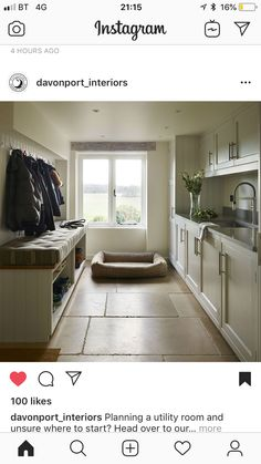 Utility Kitchen Ideas 2018, Boot Room Utility, Bungalow Renovation, Kitchen Utilities, Laundry Room Design, Wet Rooms, Small Room Bedroom, Building A House, Living Room Decor