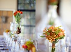 bulbs on tulips Wedding Tulips, Wedding Blog, Our Wedding, Flower Pots, Flowers, Luxury Wedding, Bulbs, Table Decorations, Bride